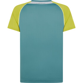 La Sportiva Motion T-Shirt Men, pine/kiwi